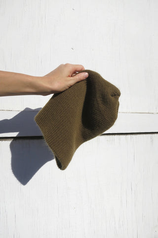 SALE Knit Hat Vintage Military Dead Stock, One Size