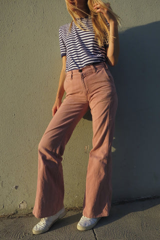 70s Levi's Bell Bottoms Brushed Cotton Twill Sz. 29 x 32