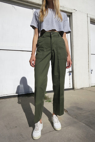 Army Pants High Waist Sz. 26 Waist