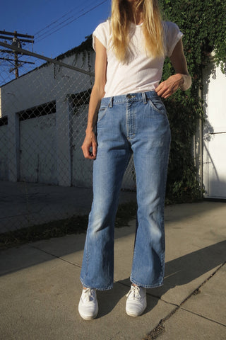 Bell Bottom Lee Jeans Vintage 70s Sz. 29 x 28.5