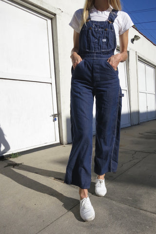 Lee Overalls 60s Dark Denim Up to Sz. 26 Waist