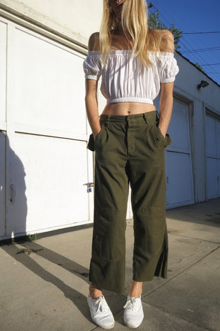 1960s European Military Pants Sz. 29 Waist