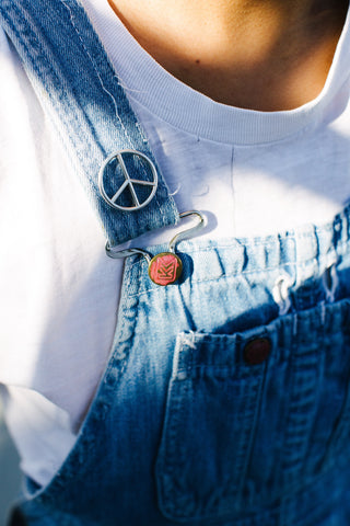 Peace Pin Sterling Silver - Fair Season x Lucy Michel