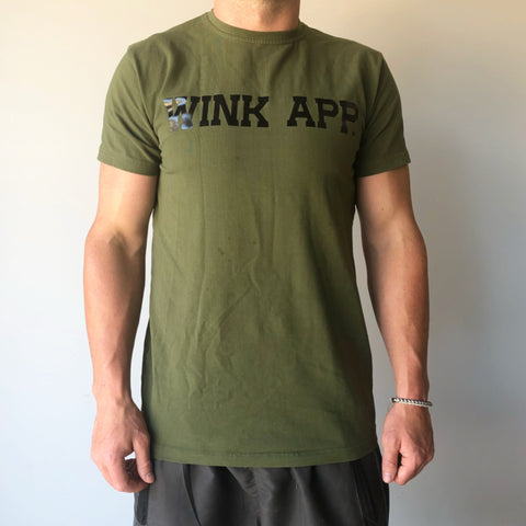 Freshman Hybrid-Tech Tee - Army Green