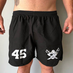 All-Day Shorts - Black & White