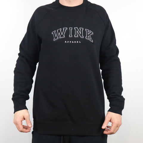 Harvard Crewneck Sweater - Black