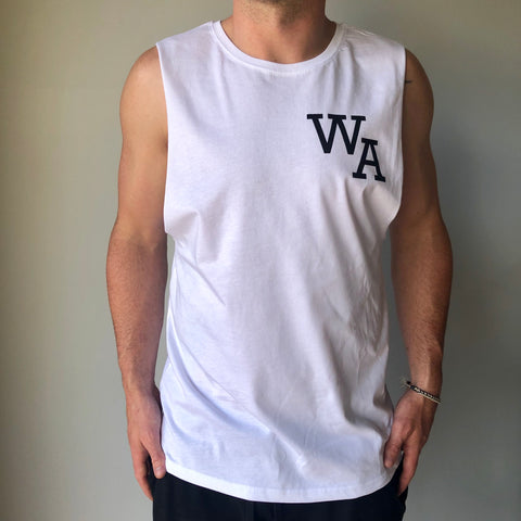 First Base Tank - White