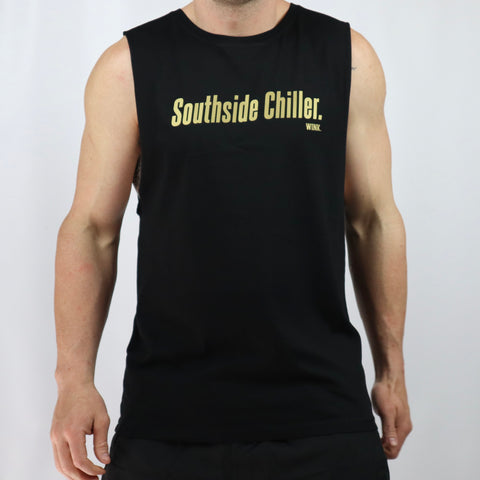 Southside Gold Edition Tank - Black
