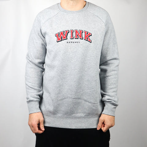 Harvard Crewneck Sweater - Grey