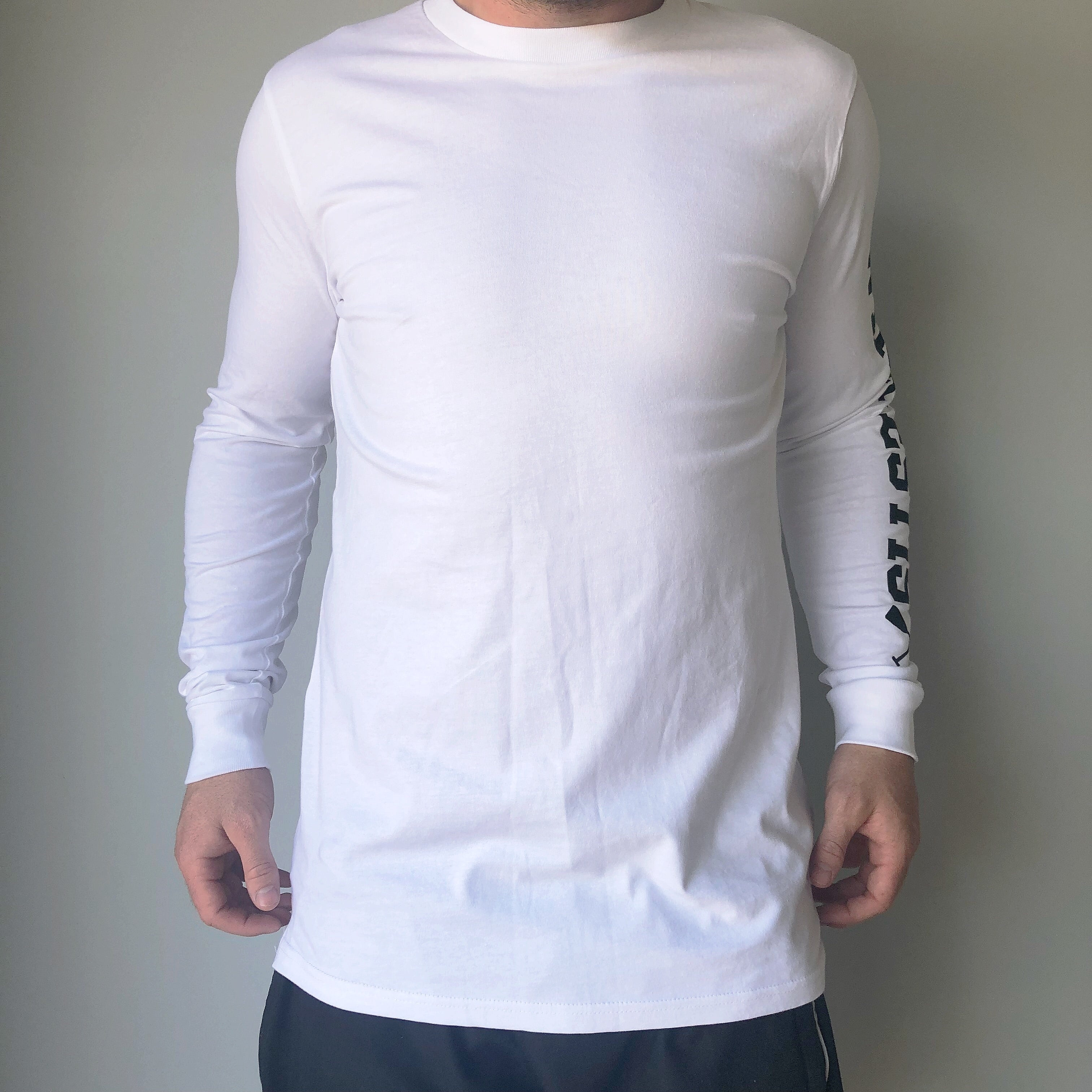 The Prince Long Sleeve - White