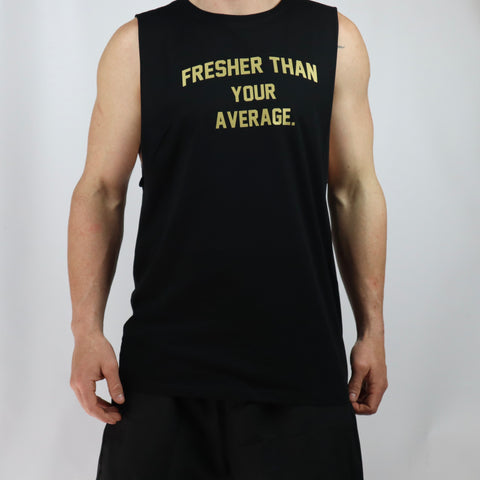 Fresher TYA Gold Edition Tank - Black
