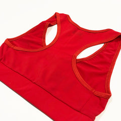 Rogue Sports Bra - Red