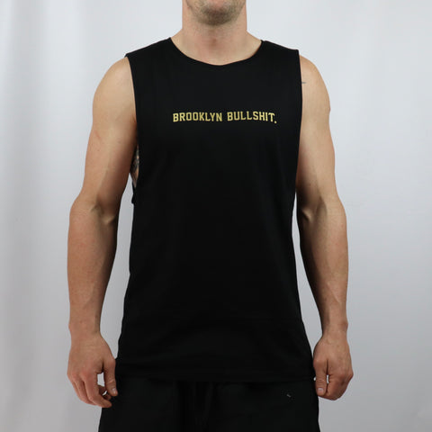 Brooklyn Gold Edition Tank - Black