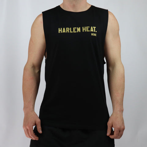Harlem Gold Edition Tank - Black