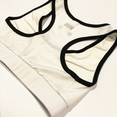 Rogue Sports Bra - White