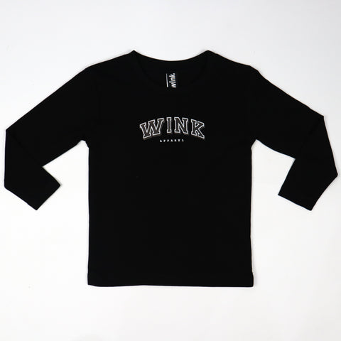 Kids Harvard Longsleeve - Black