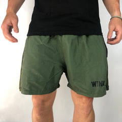 All-Day Shorts - Army Green