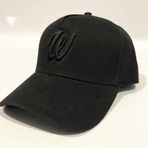 The 18' Spiller Cap - Black on Black