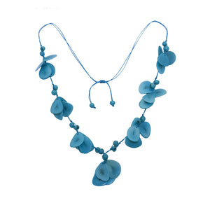 Turquoise Tagua Necklace