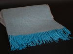 Alpaca Throw Baby Blue Sky