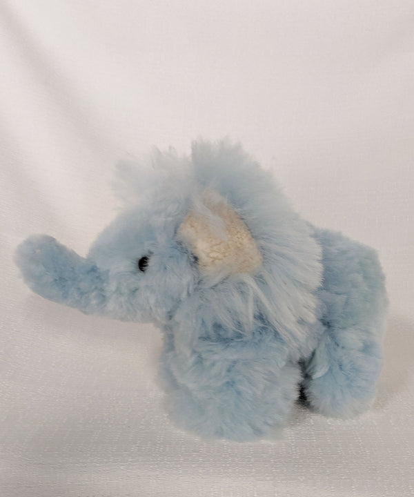 Peruvian Alpaca Elephant Baby Blue Stuffed Animal