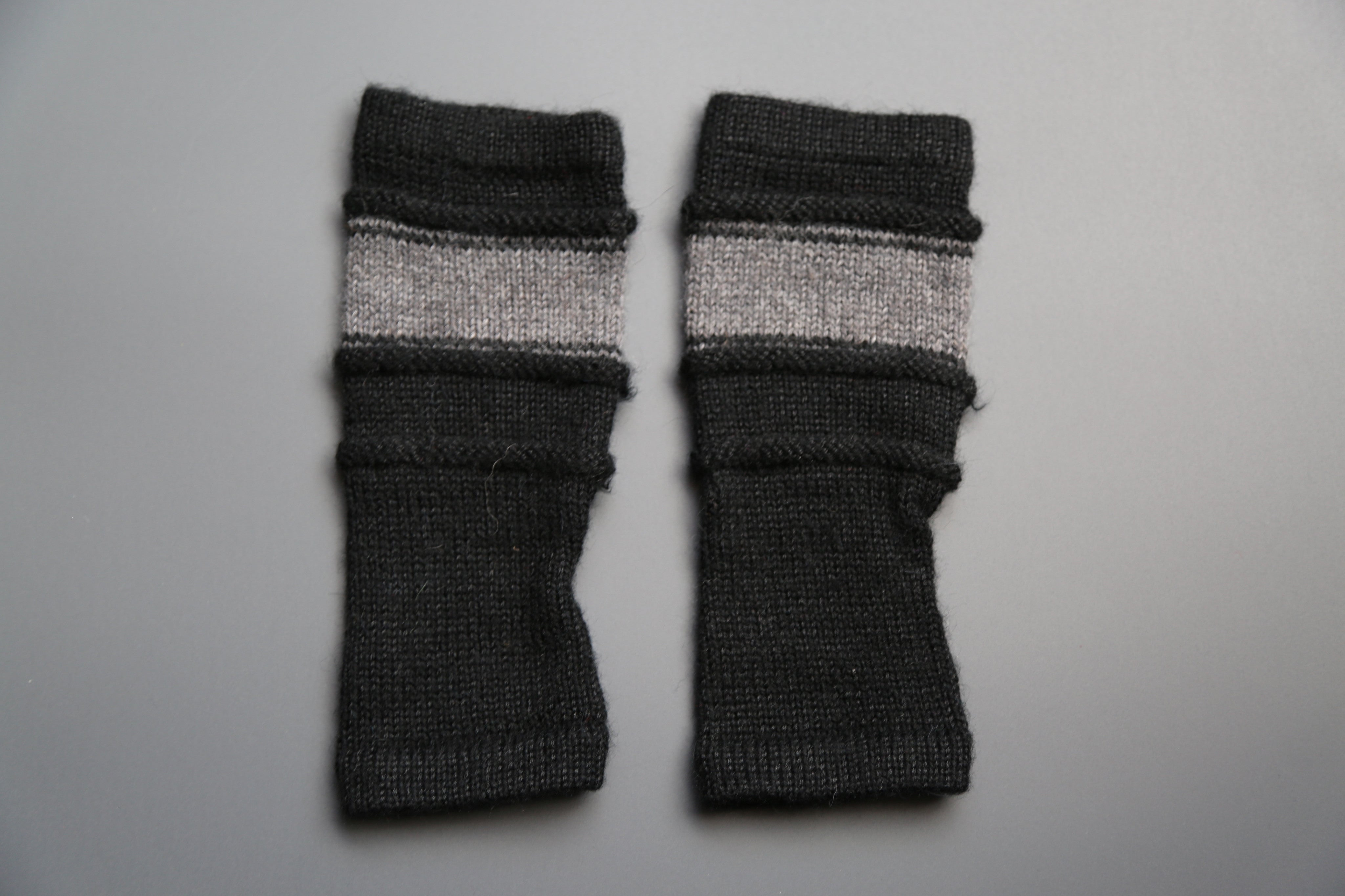 Alpaca Gloves Ancash Black