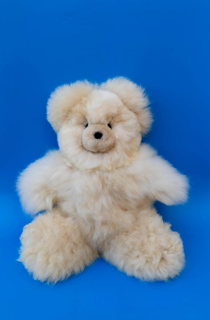 Alpaca Stuffed Animal Large Honey Bear