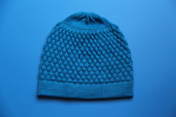 Alpaca Beanie - Honeycomb Earth
