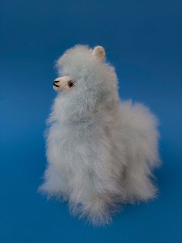 Alpaca Stuffed Animal Llama Blue