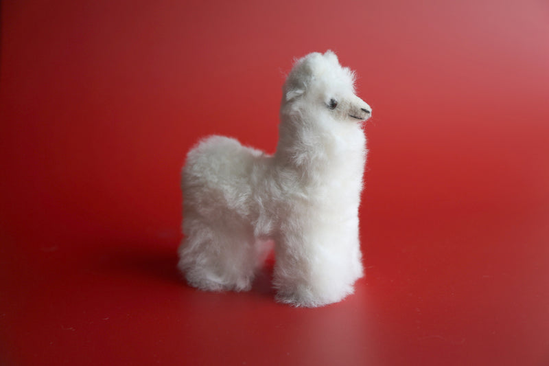 Small Llamas Trio White - Pink - Light Brown