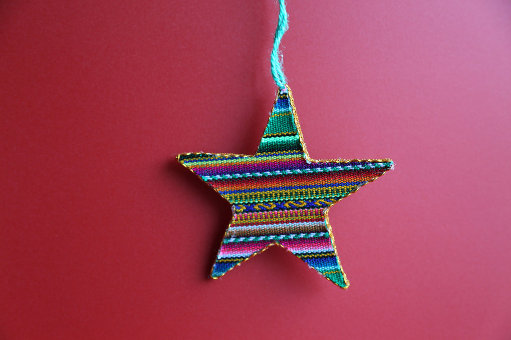 Andean Inca Star  Ornament