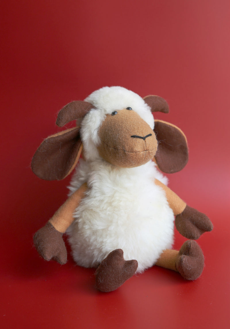 handmade alpaca stuffed animal lamb