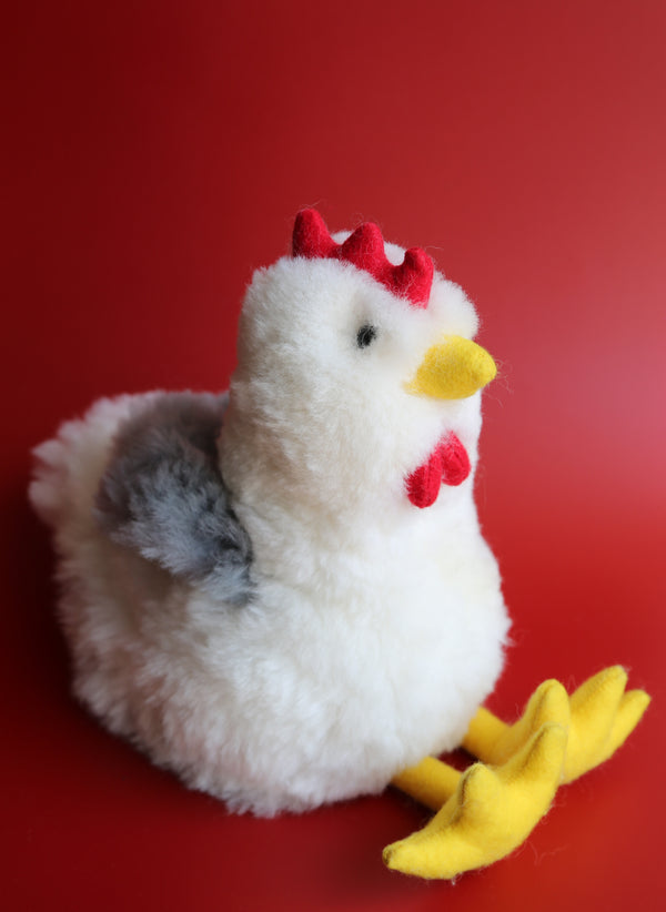 Peruvian Alpaca Stuffed Animal Chicken