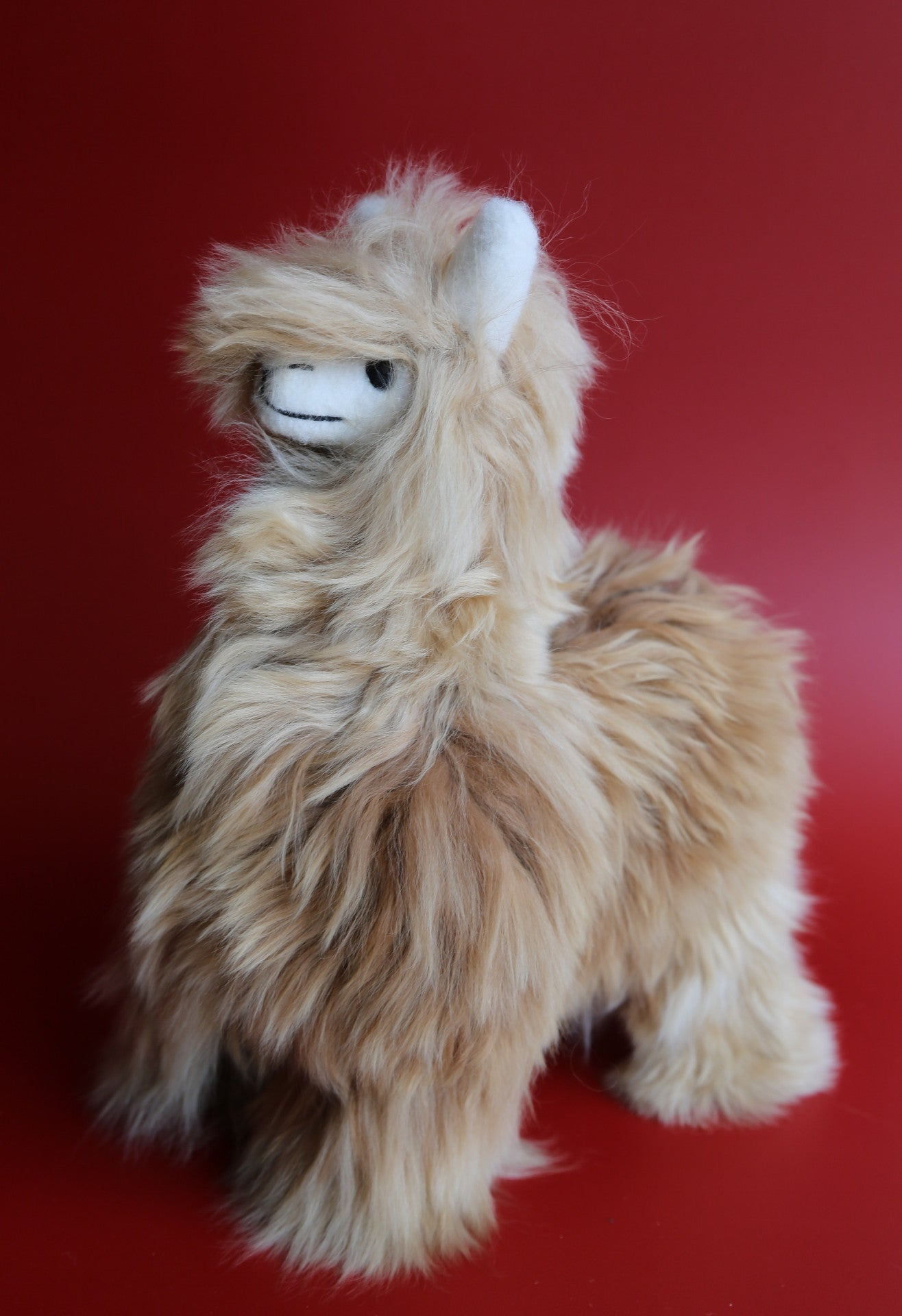 Alpaca Stuffed Animal Dark