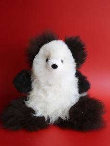 Alpaca Stuffed Panda Bear Small
