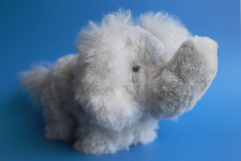 Peruvian Alpaca Stuffed Animal Elephant