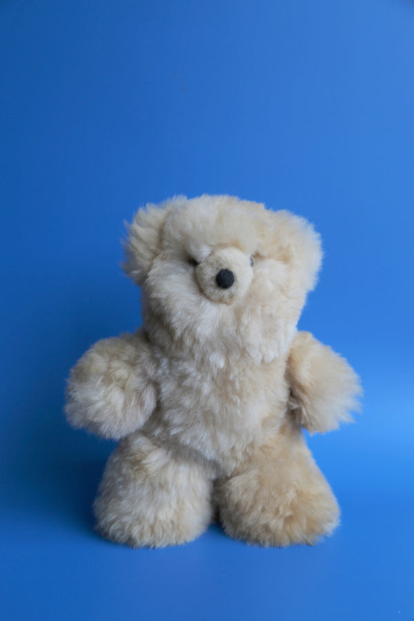 Alpaca Toy Teddy Bear Beige