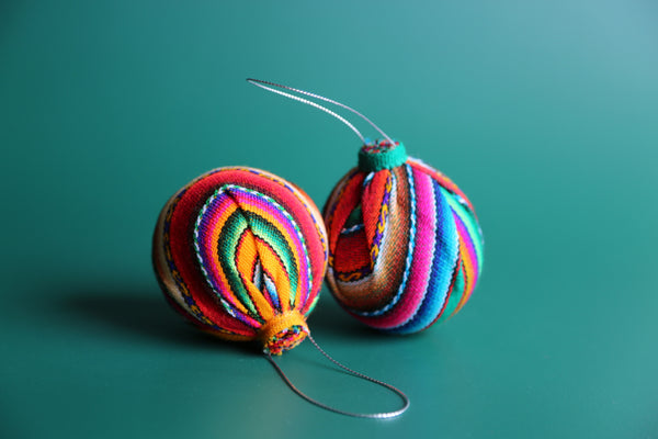 Andean Spheres Ornaments Set