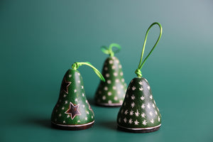 Green Bell  Ornament