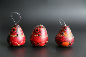 Red Owl Ornament