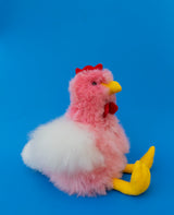 Alpaca Stuffed Pink Chicken
