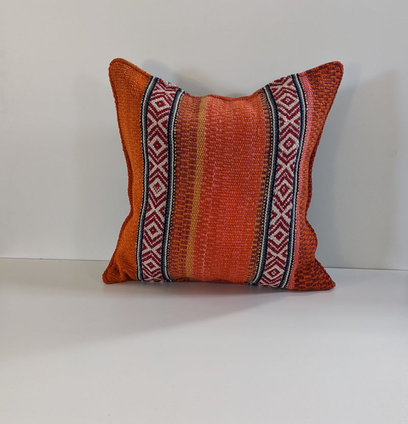 Colorful Frazada Pillow Summer
