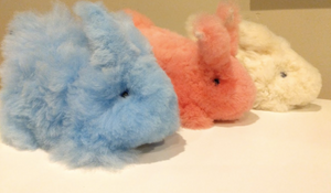 Easter Rabbit Alpaca Stuffed Animal