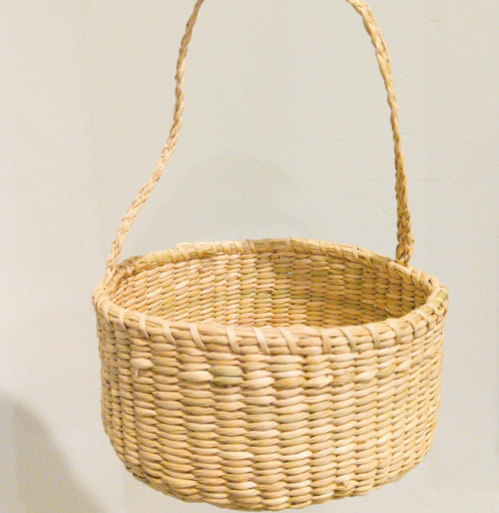 Easter Basket Hand Woven