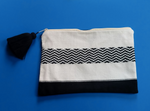 Hand Woven Cotton Pouch Shadows