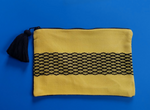 Hand Woven Cotton Pouch Bee