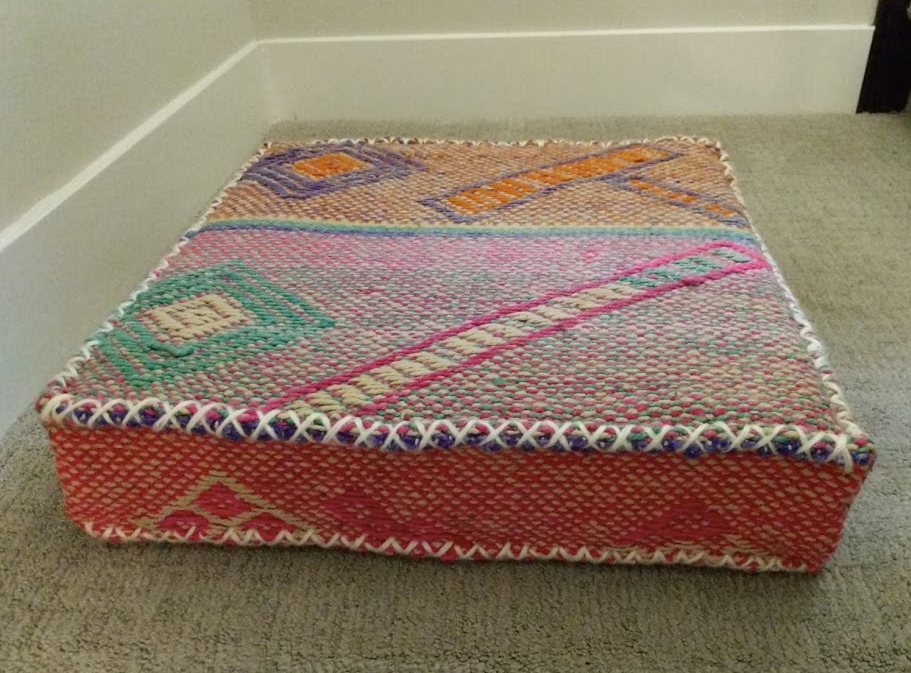 Vintage Floor Pillow