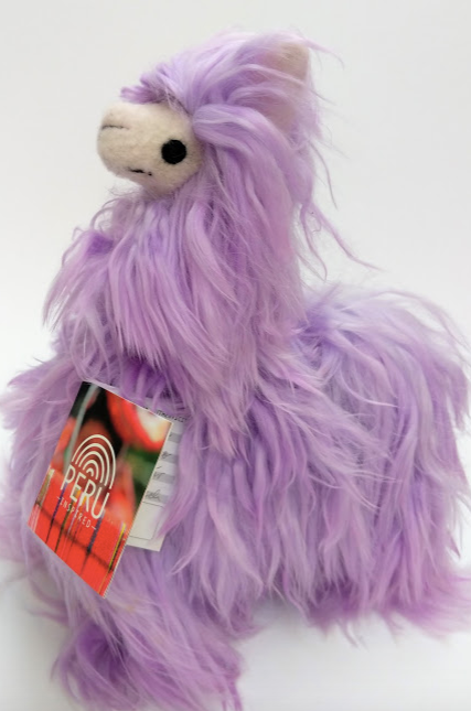 Alpaca Stuffed Animal Purple