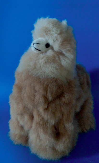 Alpaca Stuffed Llama Brown