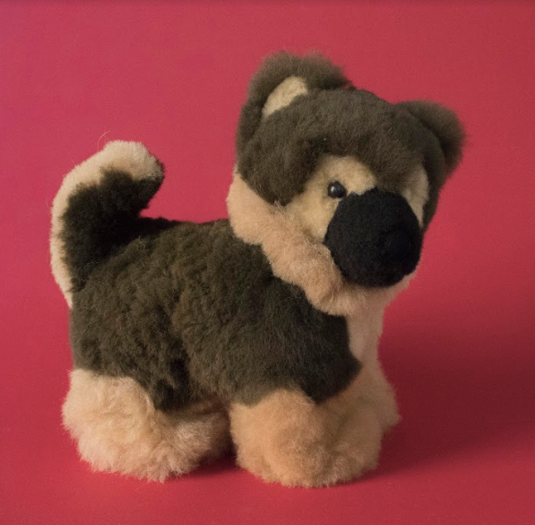 Alpaca Stuffed German Shepard